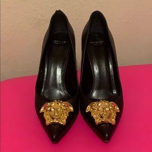 Versace heels flash sale ends on Friday